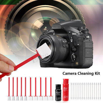 14Pcs APS-C CMOS/CCD Sensor Cleaning Swab Fluid Cleaner Kit For Nikon Sony Canon