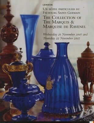 Christies 2007 Collection of The Marquis & Marquise De Ravenel