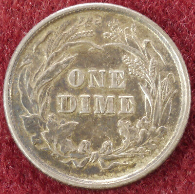 United States Dime 1898 (D2609)