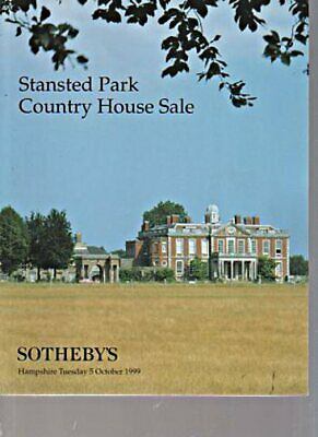 Sothebys 1999 Stansted Park Country House Sale
