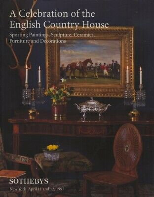 Sothebys April 1997 English Country House, Sporting Paintings, Sculpture etc.