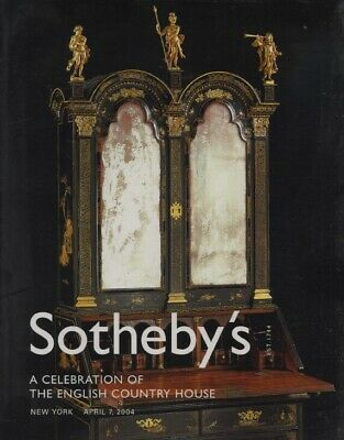 Sothebys April 2004 English Country House Furniture, Ceramics and Decorations
