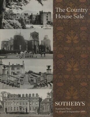 Sothebys September 1999 The Country House Sale