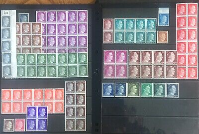 Germany Third Reich 1941-1944 Hitler issues inBlocks & Singles MNH/MLH