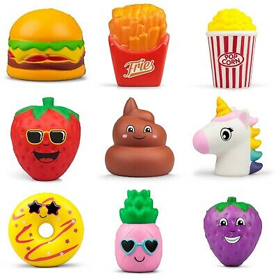 Squishy Puffems Stress Ball Squeezy Crazy Characters Sweet Treats Fast Food Gift