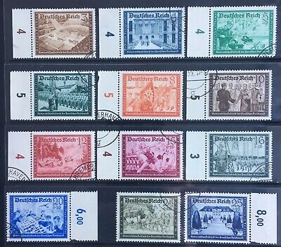Germany Third Reich 1939 Postal Employees' & Hitler's Culture Fund Used