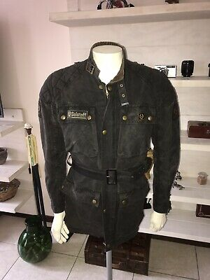 21a99607b67 VINTAGE 70'S BELSTAFF Trialmaster Pro Waxed Motorcycle Jacket Size M ...