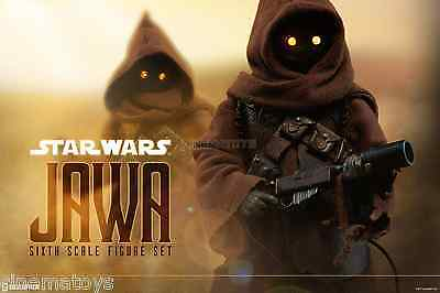 Star Wars Ep. IV Jawa Sixth Scale Action Figure Set Sideshow Collectibles Jawas