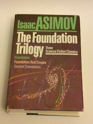 Isaac Asimov - The Foundation Trilogy (1982) - HC/DJ - Book Club Edition
