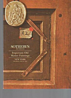 Sothebys 1994 Important Old Master Paintings