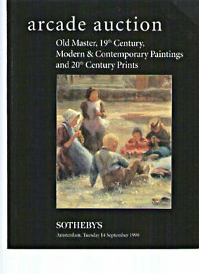 Sothebys 1999 Old Master 19th Century Modern Paintings & Prints