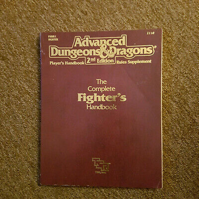 AD&D / Advanced Dungeons and Dragons  -The complete Fighter´s Handbook- TSR 2110