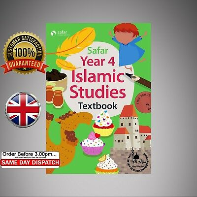 Islamic Curriculum, Safar Islamic Studies, Text & Workbook Series NEW year 4
