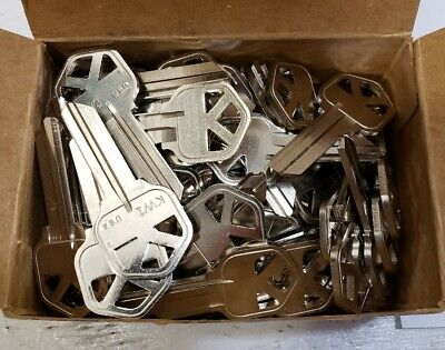 Kwikset KW1, AR1 Blank Keys - Lot of 85 - Made in USA