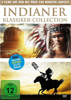 Indianer - Klassiker-Collection [2 DVDs] Daniel Boone - Der letzte Mohikaner - L