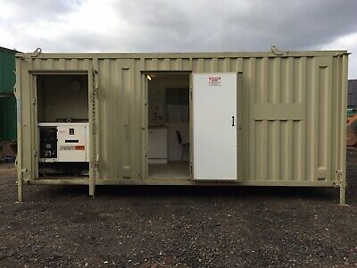 Site Office Cabin Welfare Unit Canteen Drying Room Toilet Generator Portable