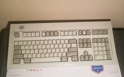 6e334bbbf97 VINTAGE 1987 IBM Model M Mechanical Clicky Key Keyboard 1391401 ...