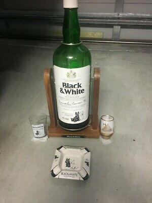 Black &white scotch whisky collectables