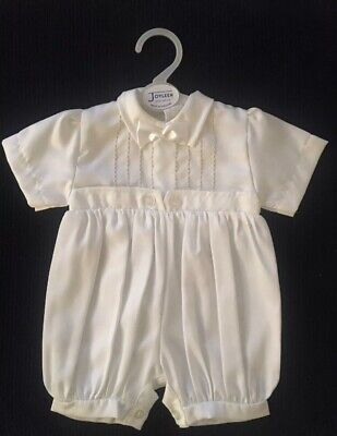 Baby Boys Christening Outfit Baptism Wedding 0-3m