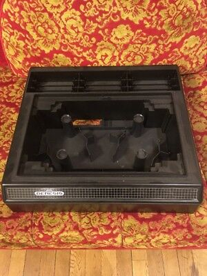 Vintage ALS Industries Sega Genesis Console & Video Game Organizer Storage Case