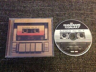 Guardians Of The Galaxy Awesome Mix Volume 1 - CD Album Soundtrack, Rock, Funk