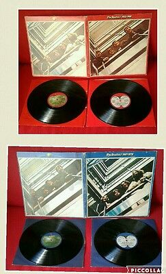 THE BEATLES -LP 1962/1966 e 1967/1970 -MADE IN ITALY-EMI-
