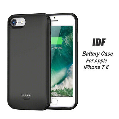 Thin Battery Charging Case Power Bank Portable Protective for iP 6 6S 7 8 + Plus