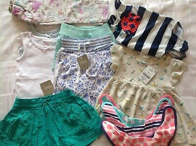 Next Baby Girl Summer  Clothes Bundle BNWT. 6-9 Months. RRP £55. 13 Items.