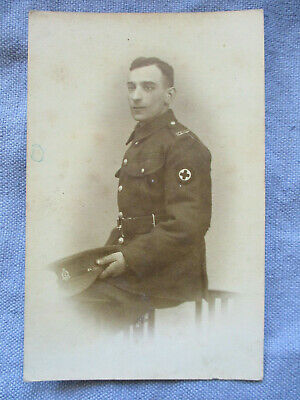 WWI British RPPC - Royal Army Medical Corps