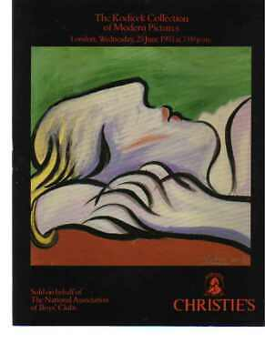 Christies 1993 The Kodicek Collection of Modern Pictures