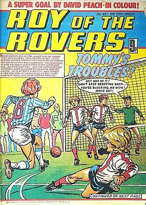 ROY OF THE ROVERS - 21st JULY 1979 (16-22 July) RARE 40th BIRTHDAY GIFT !! beano