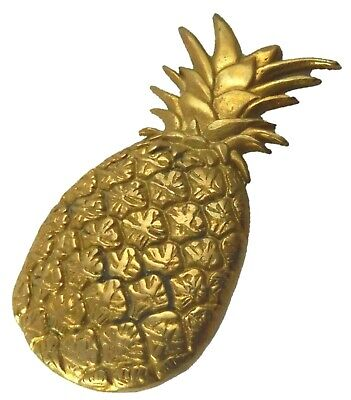 Pineapple Cabinet Pull Handle Handmade Brass Table Drawer Knobs Home Decor Gift