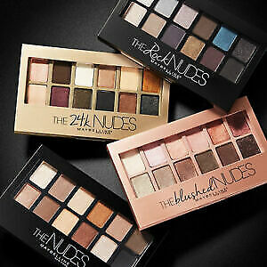 MAYBELLINE The Nudes Collection Eyeshadow Palette 9.6g SEALED - choose type