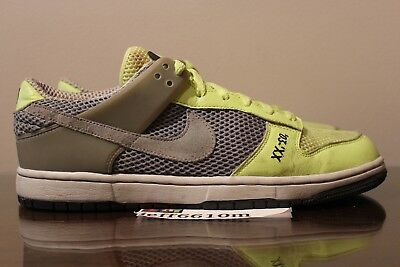 low priced 06366 10dde 2007 Nike Air Zoom Dunk Low Dunkesto Ronaldinho Union Grey Volt Sz 11  315207 002