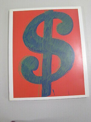 Andy Warhol $ Catalogue Gagosian Gallery 1997 RARE