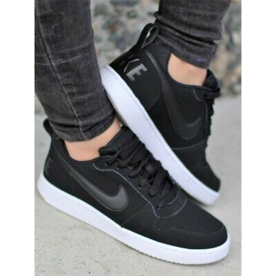Details about Nike Court Borough Low Premium Sneakers Womens Size Trainers Black Gold Bronze