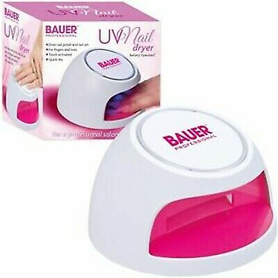 Touch Activated UV Nail Dryer Battery Operated Lamp Toes Fingernails Quick Dry