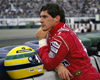 'Ayrton Senna' A4 Poster Print, Posted Within 24 Hours Of Cleared Payment!!!