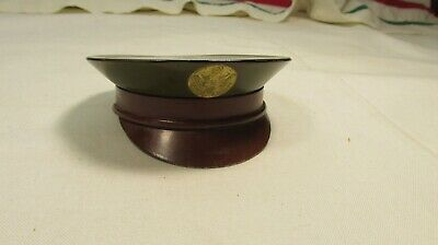 a109c403de3 Powder Compact WWII Military Army Hat Sweetheart Home Front Gift WW2 Cap  1940s