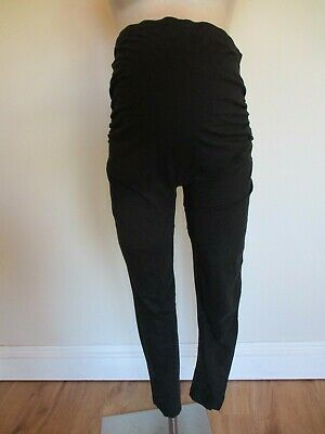 George Maternity Black Over Bump Leggings Size 12