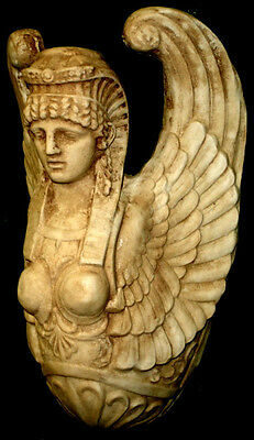 3D Winged Isis Egyptian Wall Plaque Holder Home Decor Museum Reproduction Statue