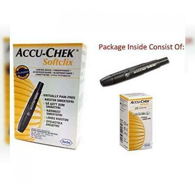 Accu-Chek SoftClix Lancing Device includes 25 Lancets