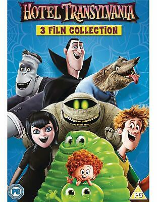 Hotel Transylvania 1 2 3 Films DVD Box Set 3 Film Collection Family Kids Gift