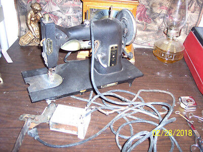 Vintage Kenmore Sewing Machine 117-141 With Cord Etc  See Pics  Selling As Found