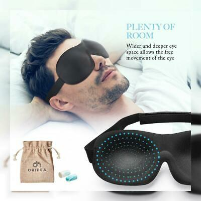 Eye Mask for Sleeping, Woman Sleep Mask, Patented Design 100% Blackout 3D...