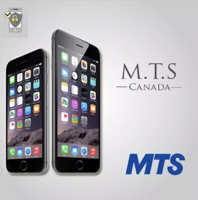 MTS BELL IPHONE UNLOCK CANADA - ALL MODELS CLEAN - Direct Source - FAST