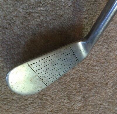 Rare Vintage RW Baker Special Own Model Hand Forged 2 Iron Golf Club