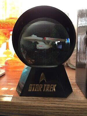 Star Trek Enterprise 1701-D Musical Lighted Snowglobe Willitts Designs 1993 NIB