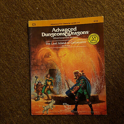 AD&D/ Advanced Dungeons and Dragons  - The Lost Island of Castanamir - TSR 9110