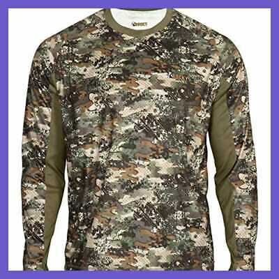 2bcacd222bd83 Rocky Men's Silent Hunter Long Sleeve Scent Iq Shirt Realtree Extra  Camouflage M